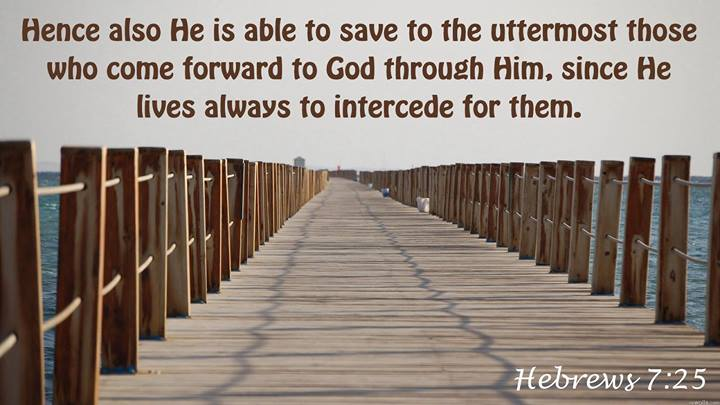 Hebrews 7 25 Hence Also He Is Able To Save To The