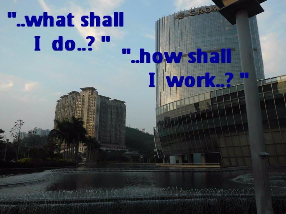 What shall I do? ... how shall I work? (Quote from Witness Lee)