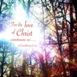 2 Cor. 5:14 For the love of Christ constrains us because we have judged this, that One died for all, therefore all died.